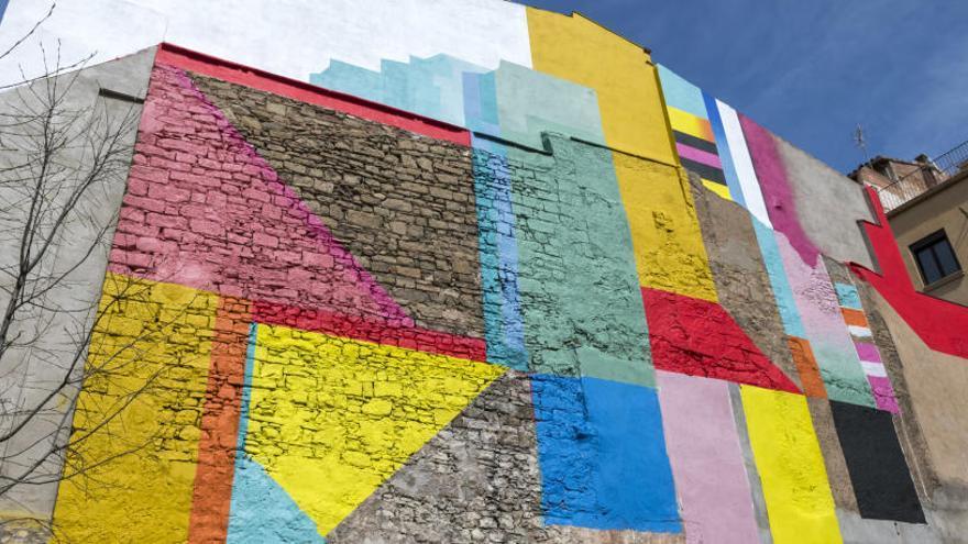 Dissabte s'inaugurarà el mural pictòric de l'artista OVNI a la placeta de la Mel