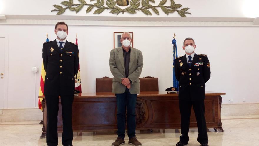 Carlos Nieto Millán, nuevo inspector jefe de la Policía Nacional de Dénia