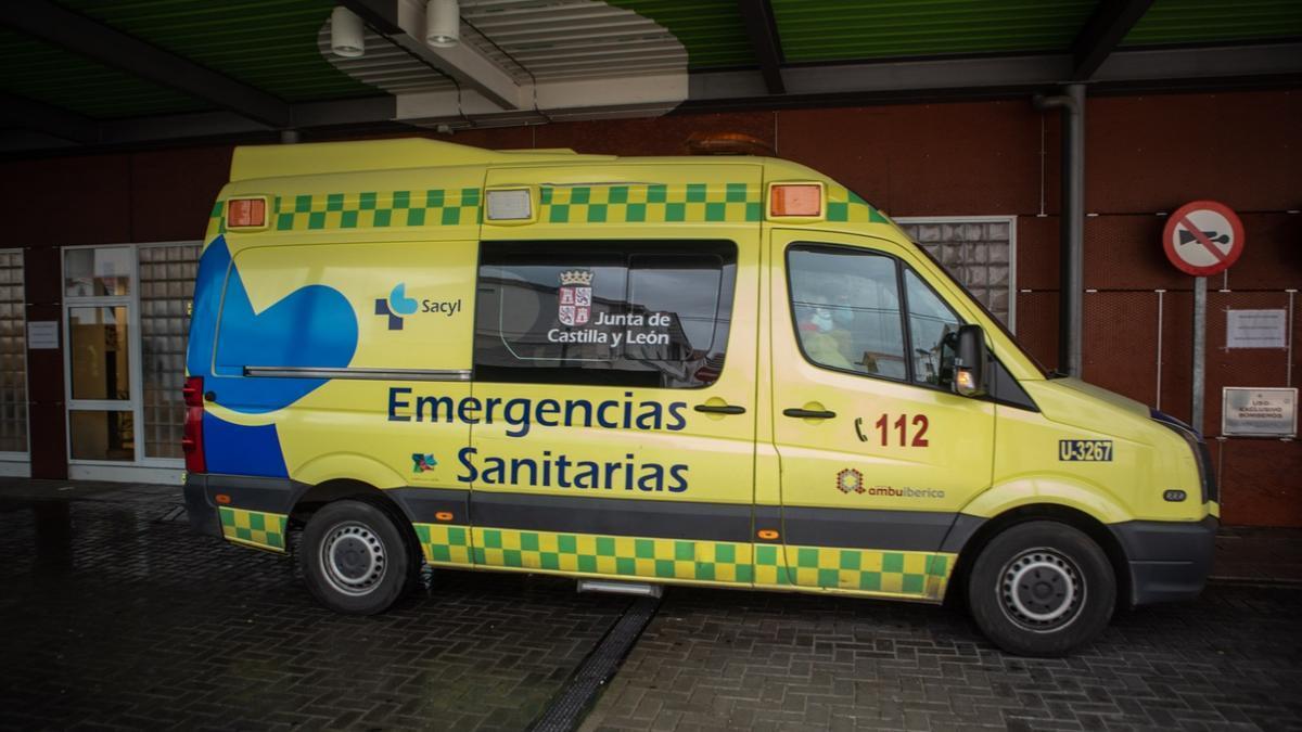 Ambulancia en Zamora.