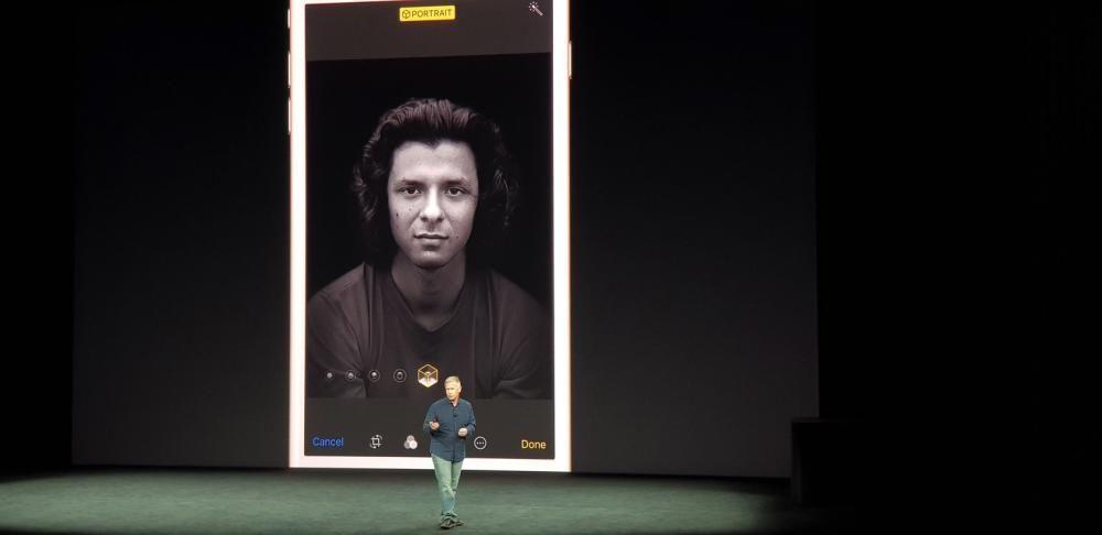 Ojo con el nuevo modo retrato del iPhone 8 porque es brutal.