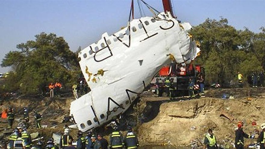 Cronología de la tragedia del Spanair en Barajas