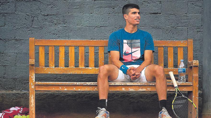 """Alcaraz: """"No me agobia que se hable de mí, yo voy a seguir a mi bola"""""""