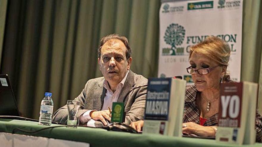 """Fernando Rueda, en Zamora: """"Aznar nunca pidió perdón por lo de Irak y eso afectó mucho a su credibilidad"""""""