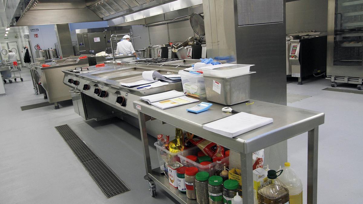 Cocina del Álvaro Cunqueiro, en 2015. // J. S.
