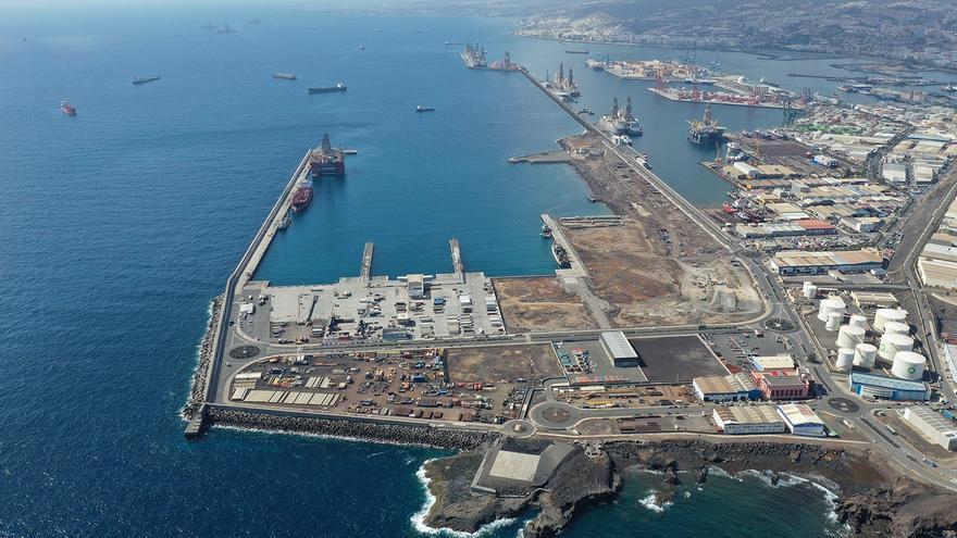 El Puerto de Las Palmas crece un 0,08% durante el pasado año 2020