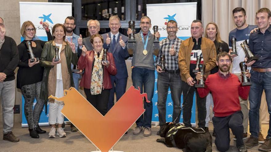 Medio, Maratón y 10K premian las categorías de discapacidad