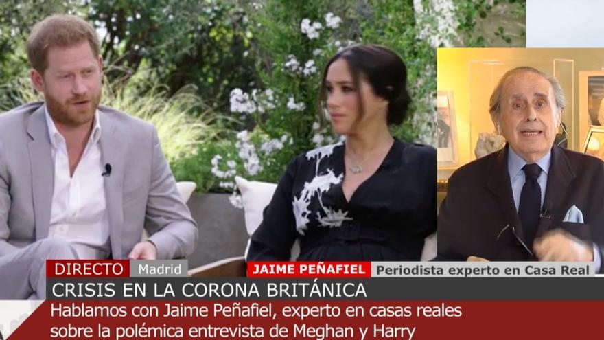 """Las polémicas palabras de Jaime Peñafiel sobre Meghan Markle: """"Es una desequilibrada como lo era Diana"""""""