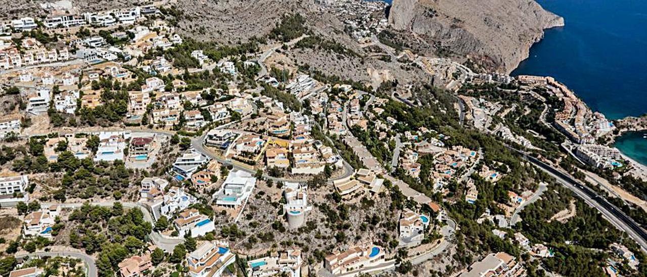 La urbanización Altea Hills, en una foto de archivo.