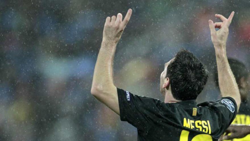 Messi alcanza a Kubala