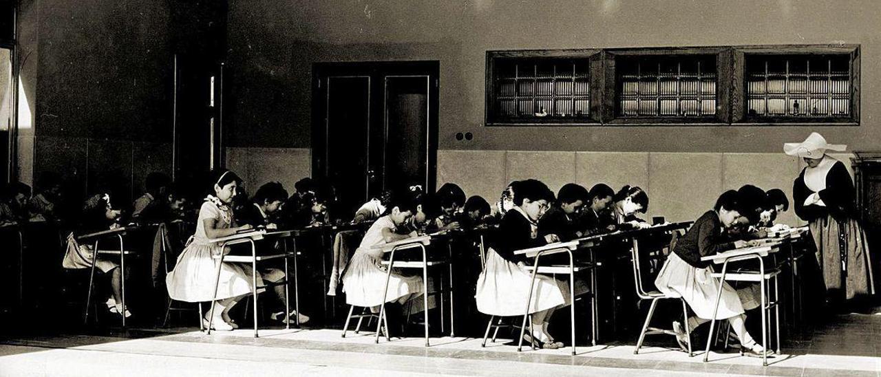 Un centro pionero en las clases al aire libre, ahora en pleno auge
