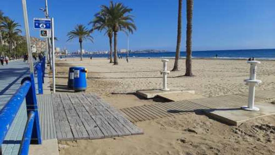Limitación en el acceso a las playas de Alicante cuando se alcance el aforo
