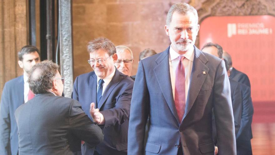 El Rey no podrá asistir a los Jaume I por su cuarentena