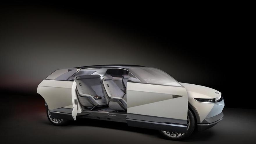 Hyundai EV 45 Concept, tot al 45