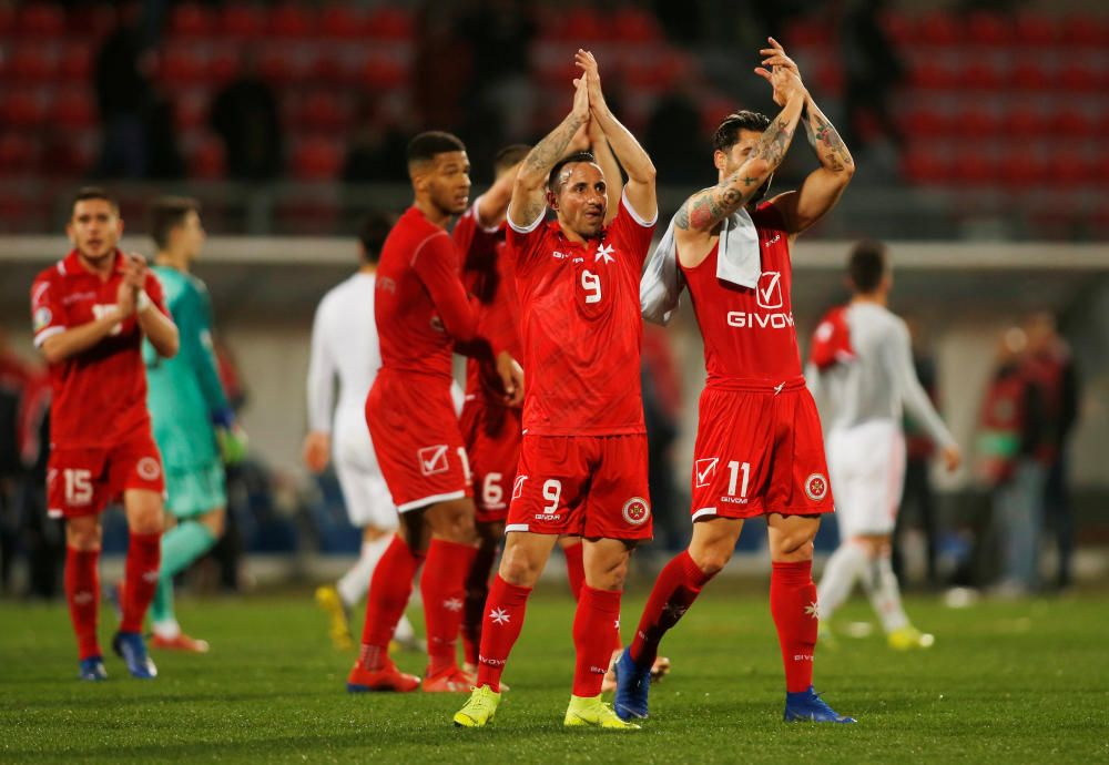 Euro 2020 Qualifier - Group F - Malta v Spain