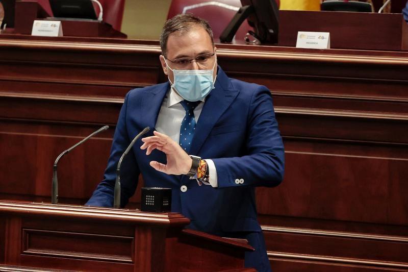 Pleno del Parlamento de Canarias, 17/08/2021