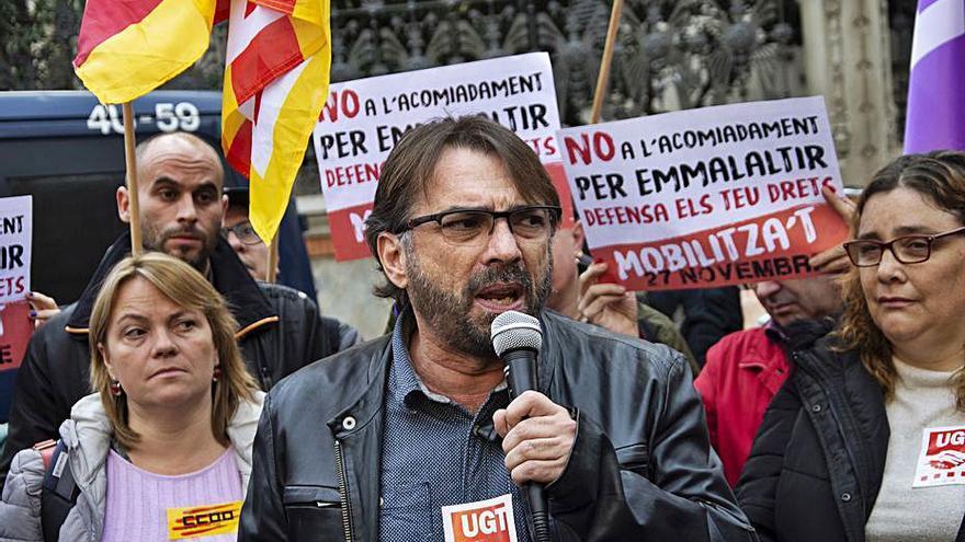 UGT de Catalunya registra un ERO per a 45 empleats, una cinquena part de la plantilla
