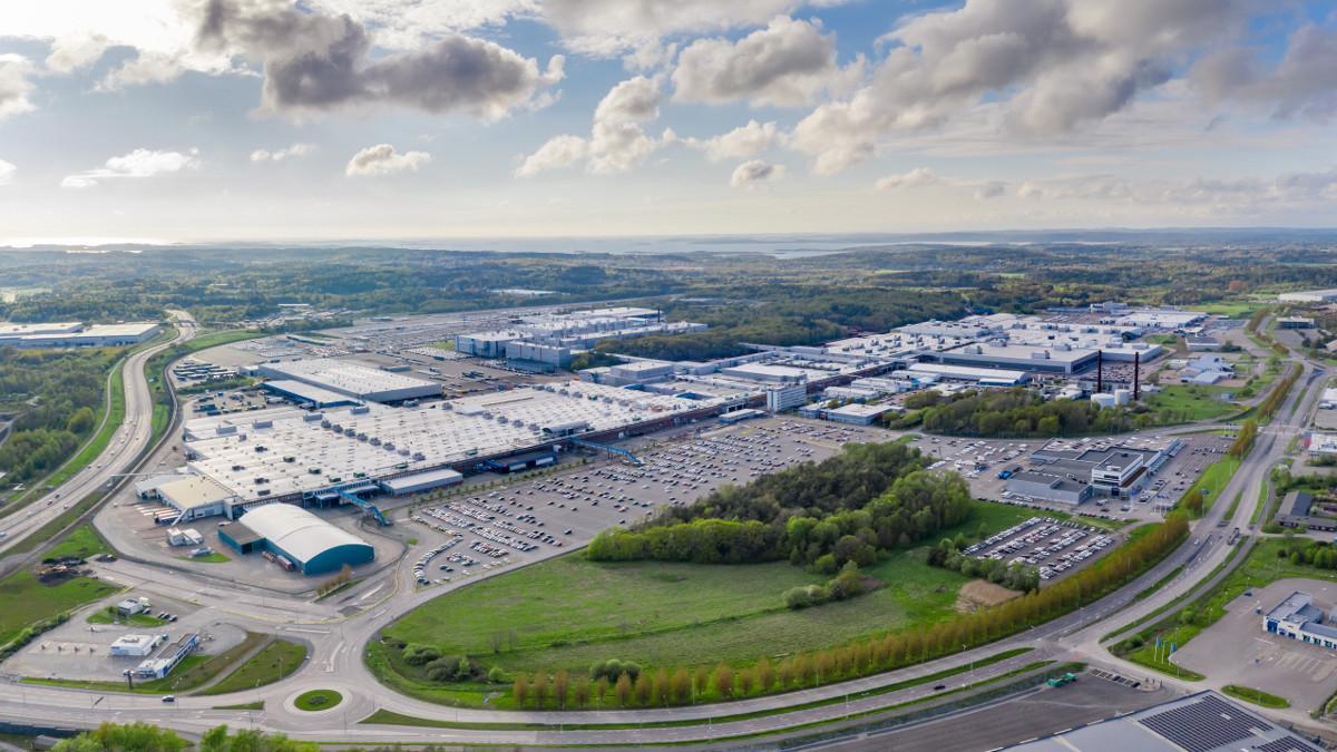 Volvo Cars Torslanda, la primera fábrica de vehículos de la compañía sin impacto sobre el clima