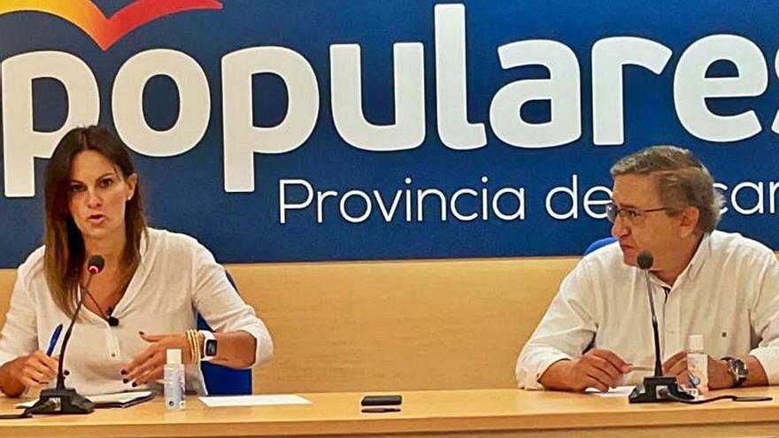 El PP carga las tintas contra Marzà por «catalanizar» aulas y no construir centros