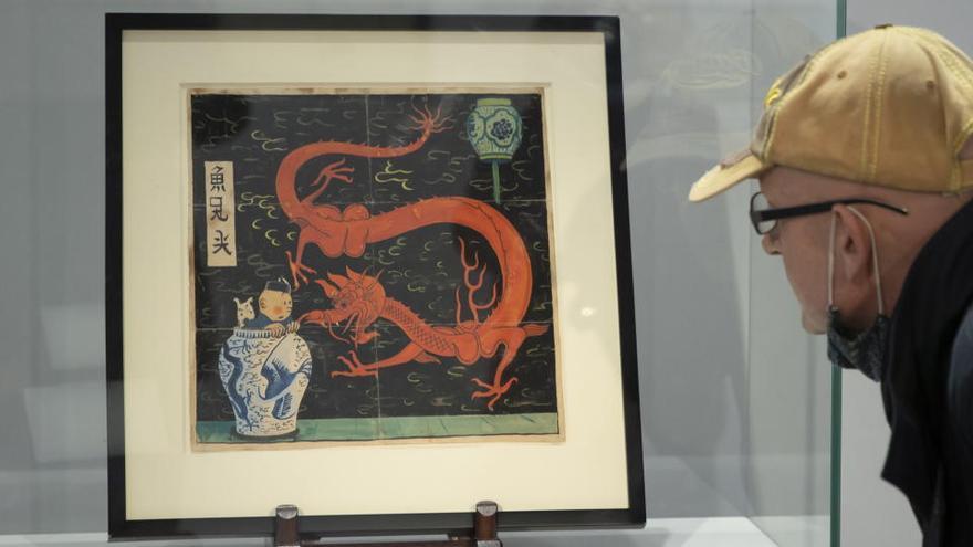 Venden una portada de Tintín por 2,6 millones de euros