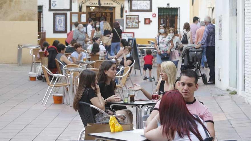 Córdoba vuelve a sus terrazas