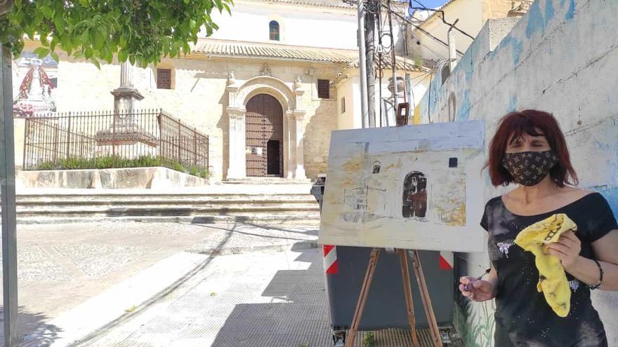 Hasta 68 artistas participan en el primer Certamen de pintura rápida Ciudad de Aguilar