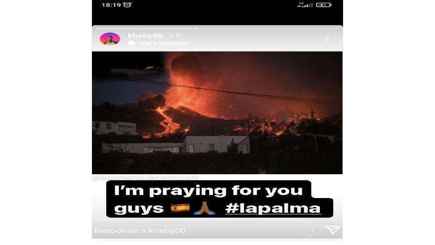 Un famoso tiktoker viraliza las imágenes de la erupción de La Palma del fotoperiodista de El Día, Andrés Gutiérrez