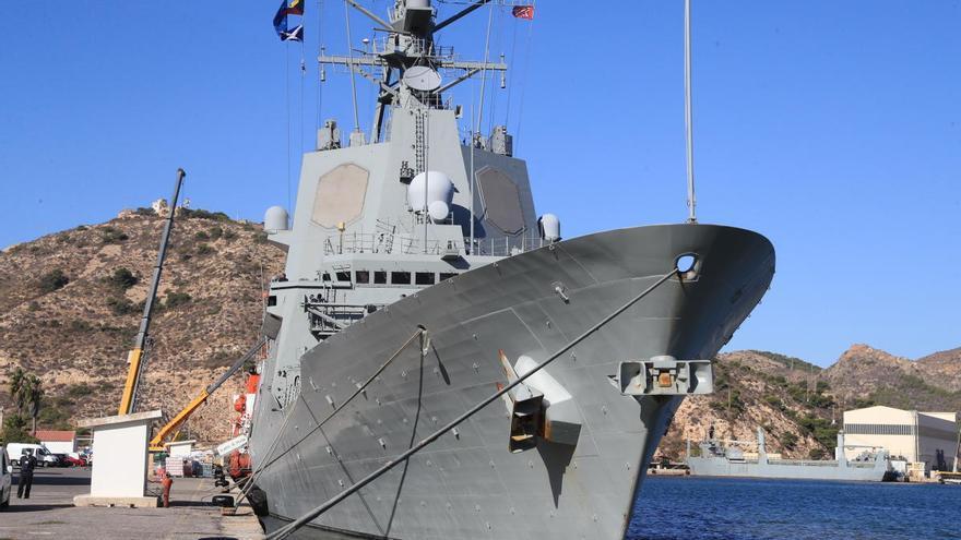 Dos buques de la OTAN se preparan en Cartagena para su próximo ejercicio