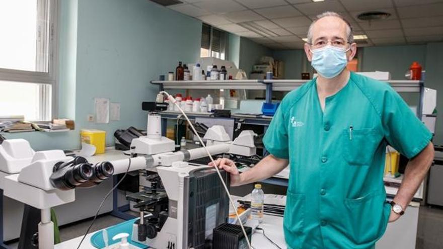 """Juan Miguel Bergua: """"La unidad de ensayos clínicos nos permite ofrecer fármacos pioneros"""""""
