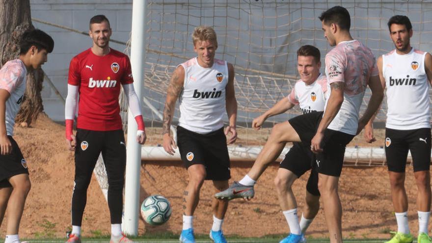 El Valencia anuncia la lista para el partido contra el Sporting de Lisboa
