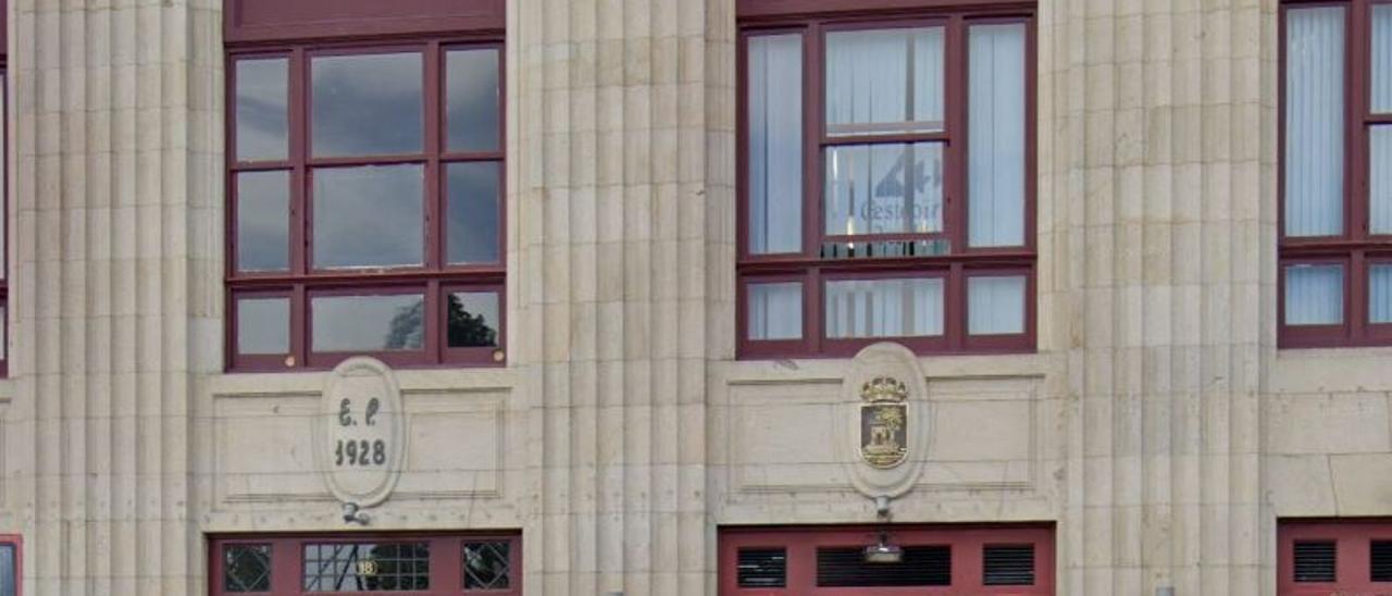 Edificio de Areal donde tenía su sede