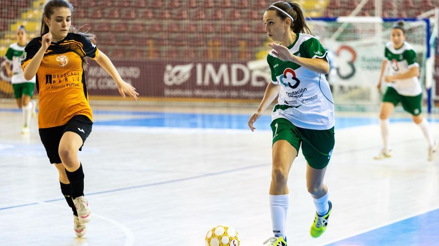 La cierre-ala Laura Fernández renueva por el Cajasur Deportivo FS