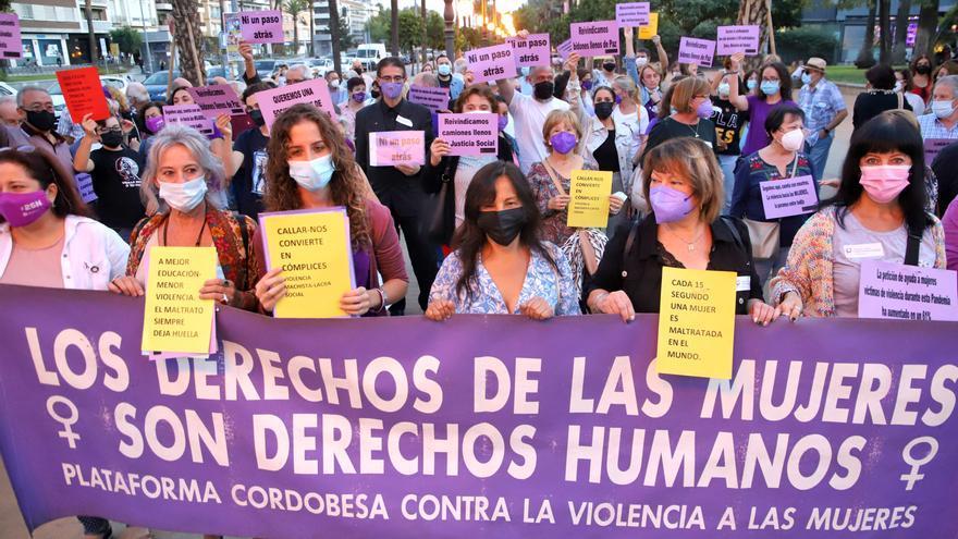 Córdoba vuelve a clamar contra la violencia de género un 25 más