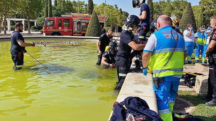 Muere ahogado un joven de 16 años en una fuente en Móstoles