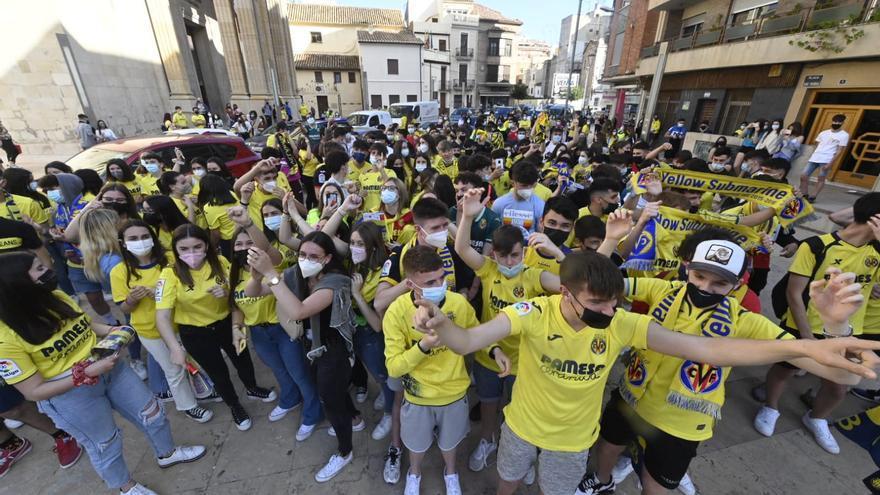 Vila-real sigue de fiesta por la clasificación del Villarreal para la final de la Europa League