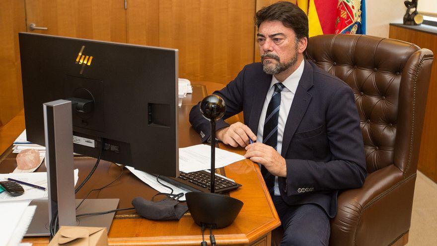 El pleno de noviembre de Alicante, en directo