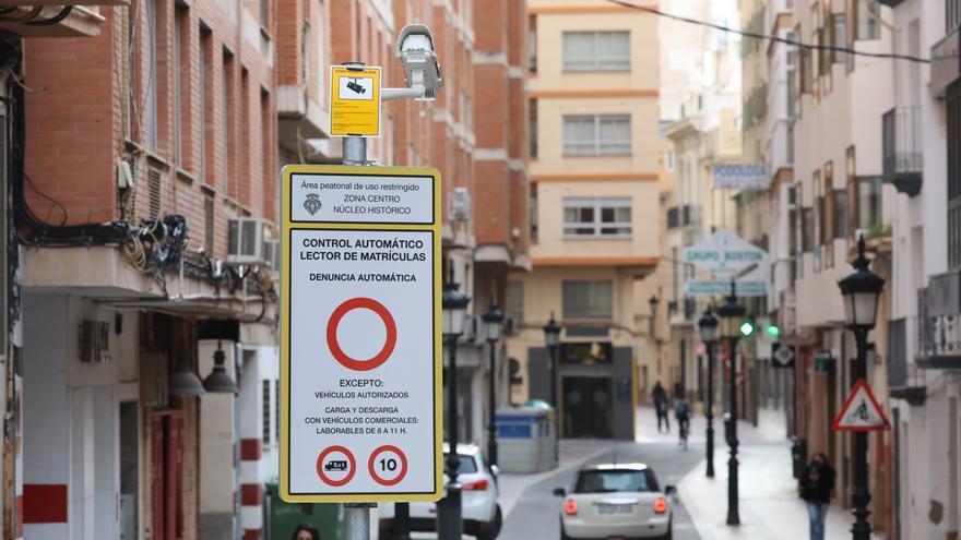 La Generalitat premia las polémicas cámaras de acceso al casco urbano de Castelló