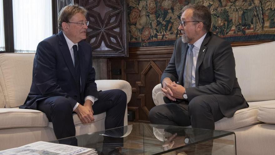 Sigue en directo la rueda de prensa de Ximo Puig y José Martí