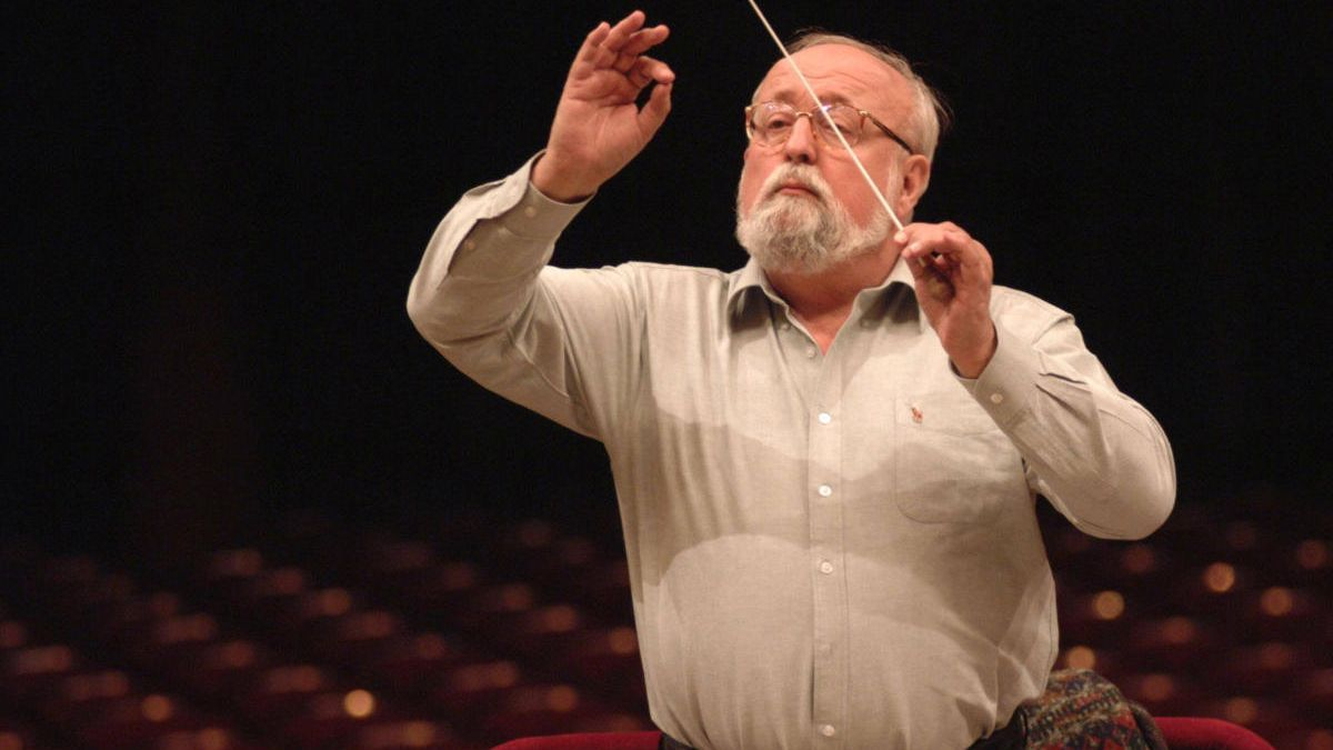Krzysztof Penderecki: Recuerdo del Cor de la Generalitat