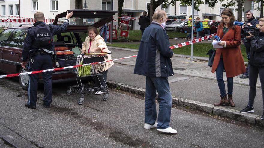 Al menos tres heridos en un atropello múltiple intencionado en Múnich