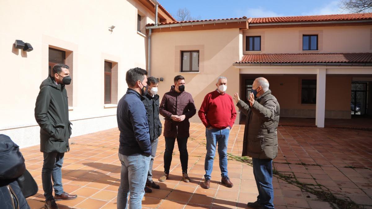 La Hospedería La Serrana, en Piornal, abrirá a finales de año tras su reforma