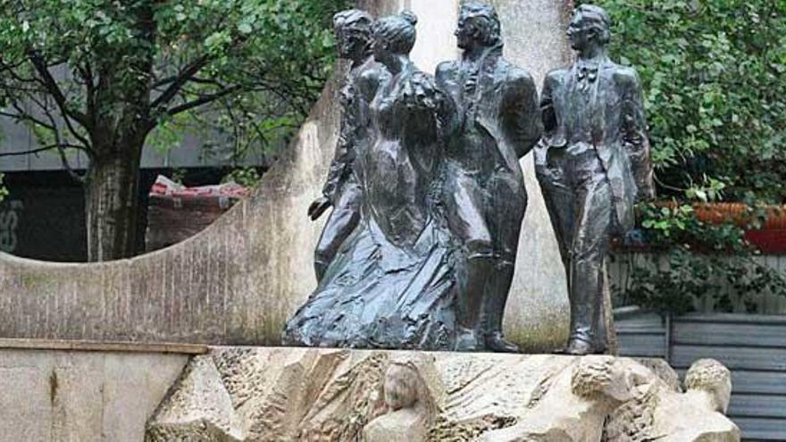 El monumento a los liberales del siglo XIX regresará a As Conchiñas en dos meses