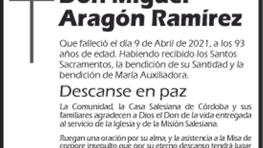 Miguel Aragón Ramírez