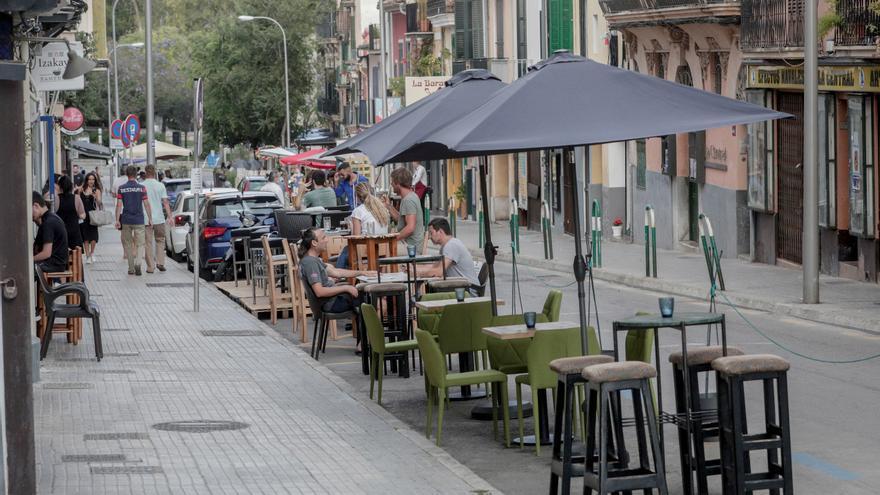 Aprobada la prórroga de la gratuidad de las terrazas en Palma hasta diciembre