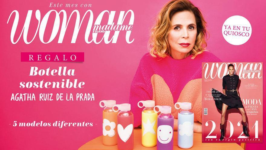 Woman regala las botellas 'eco' diseñadas por Agatha Ruiz de la Prada