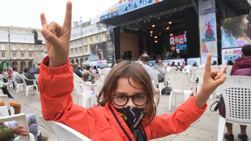 Rock en familia en María Pita