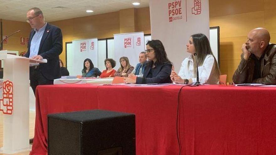 El PSPV de Castellón propone un plan estratégico para hacer frente a la regresión litoral