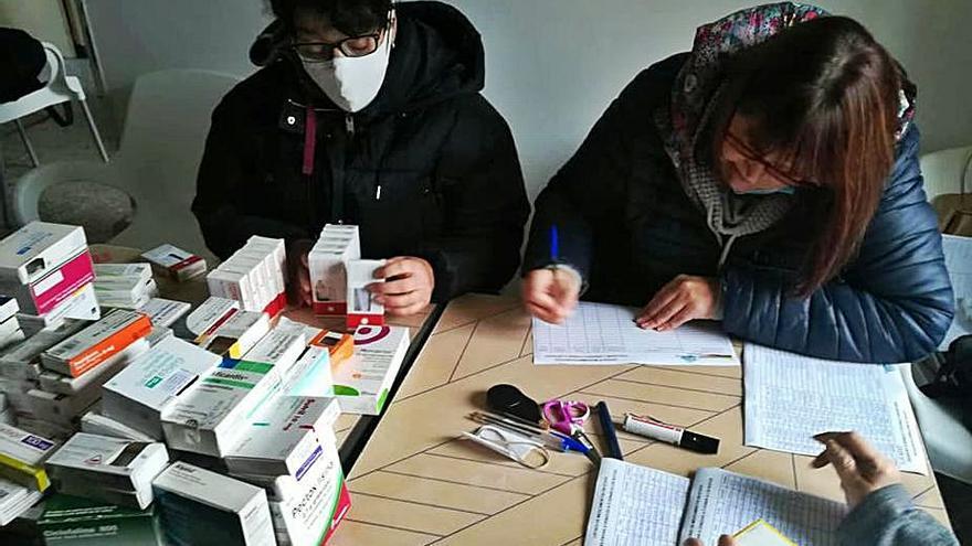 Medicinas de Lalín para enviar a los venezolanos