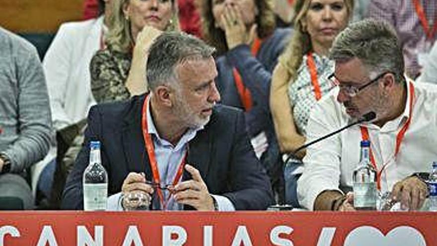 Las quejas del PSOE tinerfeño y de las bases llegan a la dirección federal