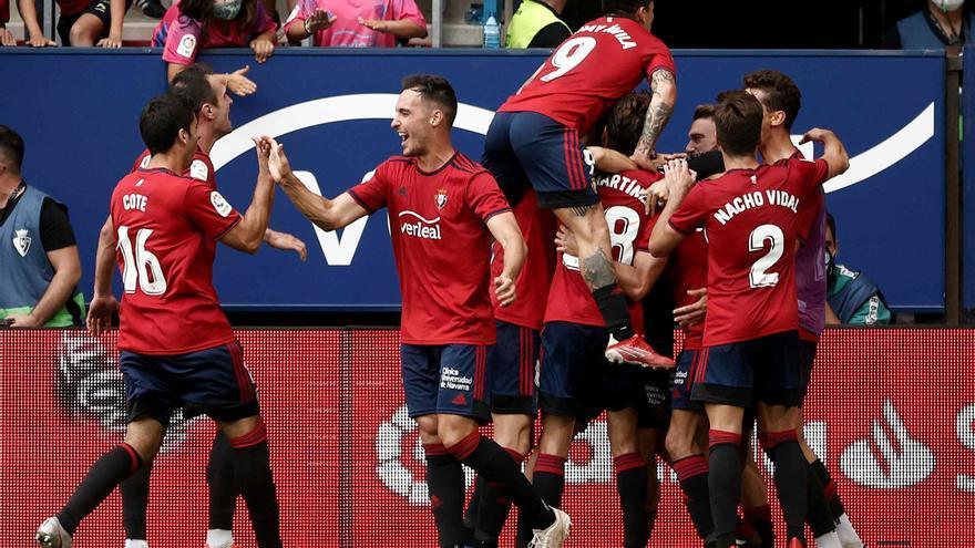 Derrota del Rayo Vallecano por 1-0 en el descuento ante Osasuna