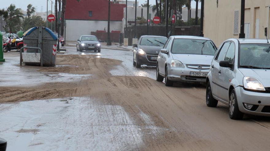 Carreteras cortadas por el temporal